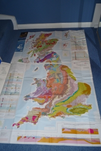 Geological Maps of Britain 1:625 000 Scale BGS