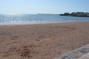 Red sands of Torbay