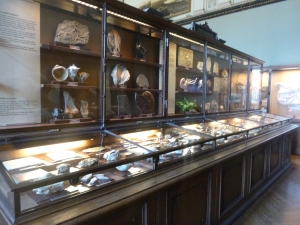 They have beautiful victorian display cabinets...