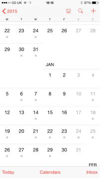 Schedule, what schedule!