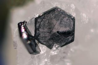 Lovely graphite crystals taken by  John Jaszczak.