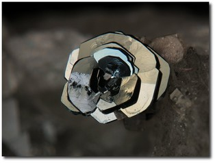 A gorgeous photo of haematite by Jean-Marc Johannet from the MinDat website.