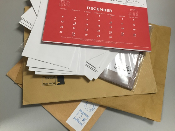 Is your overseas post ready to go - or have you already sent it?!