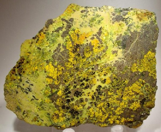 Bright yellow Uraninite from Wikipedia