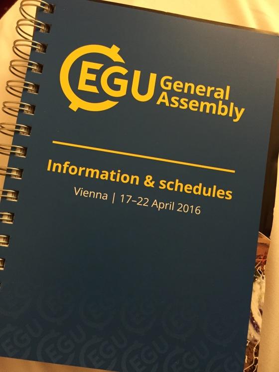 My EGU16 Bible